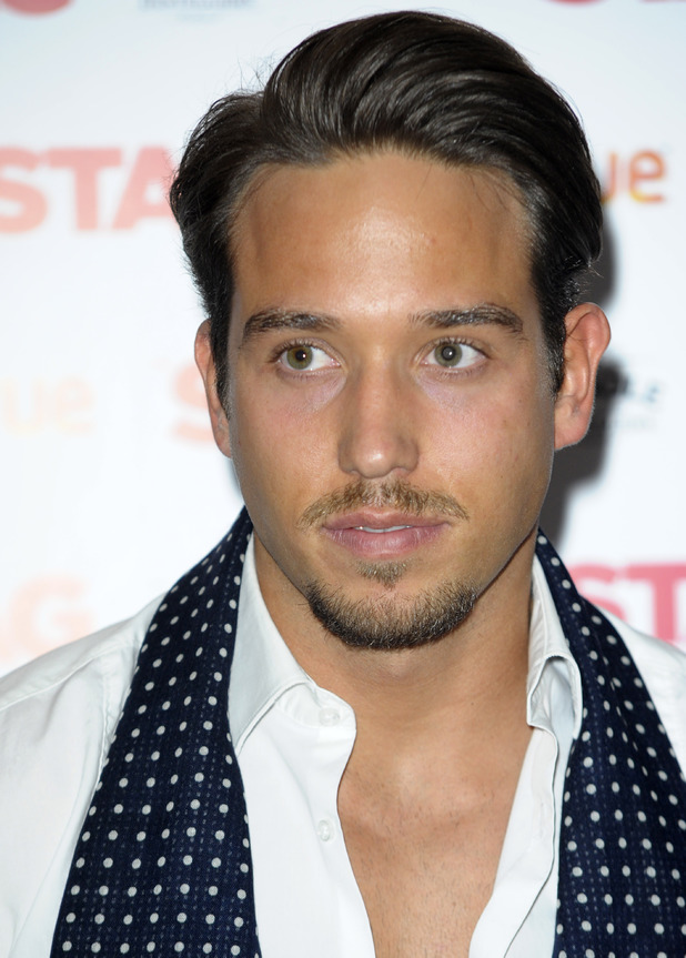 TOWIE's James Lock - 'The Stag' Gala screening at the Vue Leicester Square - Arrivals 03/13/2014 London, United Kingdom