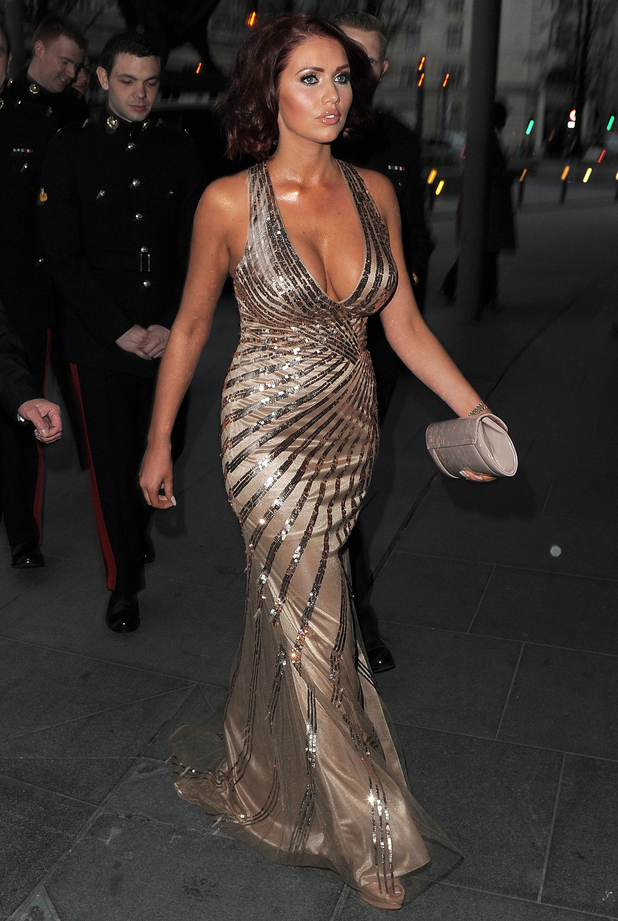 Amy Childs attends Soldiering On Awards at Park Plaza Westminster - 5 April 2014