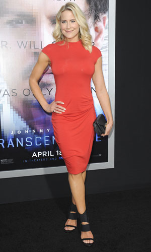 Brittany Daniel, Los Angeles premiere of Warner Bros. Pictures and Alcon Entertainment's 'Transcendence' at Regency Village Theatre, 10 April 2014