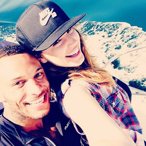 Kelly Brook enjoys a day boating in Malibu with David McIntosh. Instagram, 7 April 2014