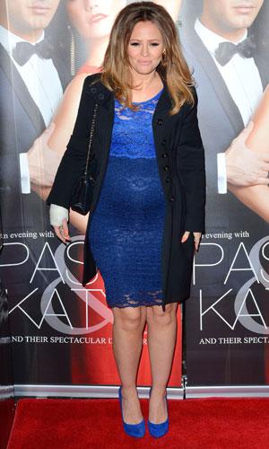 Kimberley Walsh, An Evening with Katya and Pasha Gala night at the Lyric Theatre, London, 7 April 2014