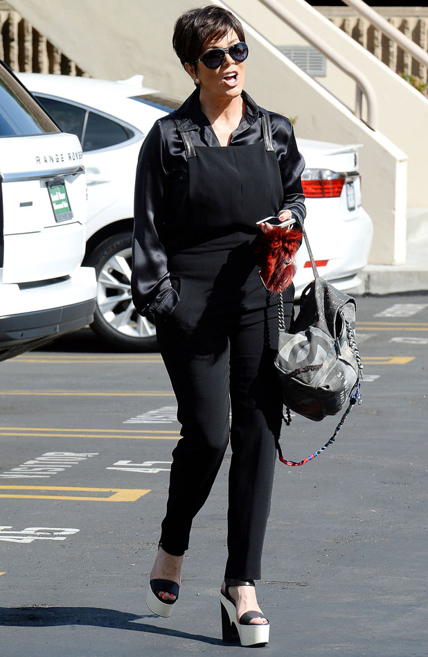 Kris Jenner out and about, Los Angeles, America - 09 Apr 2014