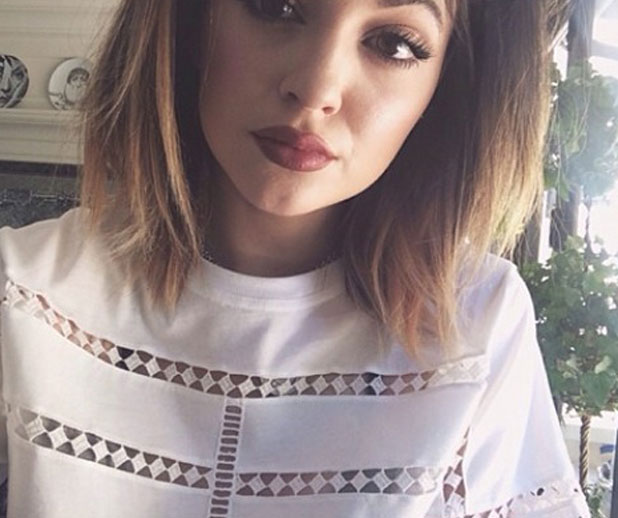 Kylie Jenner shared this selfie shortly before denying plastic surgery allegations, April 2014