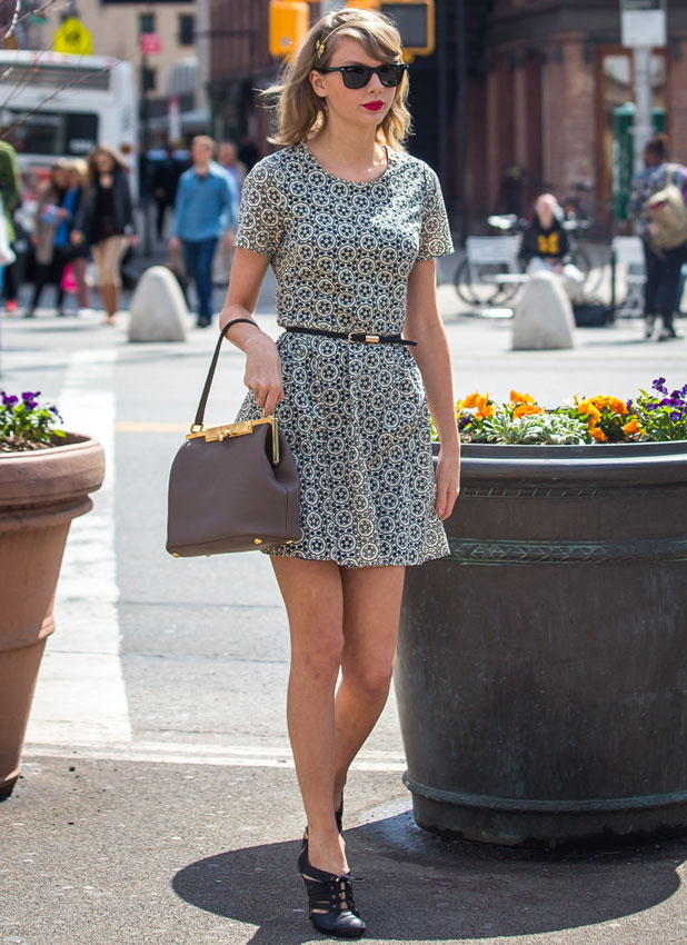 Taylor Swift out and about, New York, America - 09 Apr 2014