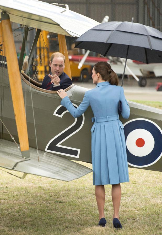 Prince William and Catherine Duchess of Cambridge visit Blenheim, New Zealand - 10 Apr 2014