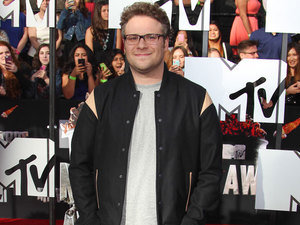 Seth Rogen, The 23rd Annual MTV Movie Awards at Nokia Theatre on April 13, 2014 in Los Angeles, California, 13 April 2014