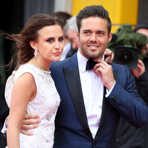 Spencer Matthews and Lucy Watson at the Arqiva British Academy Television Awards held at the Royal Festival Hall - Arrivals 05/12/2013