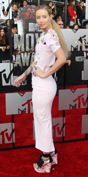 Iggy Azalea, MTV Movie Awards, April 14