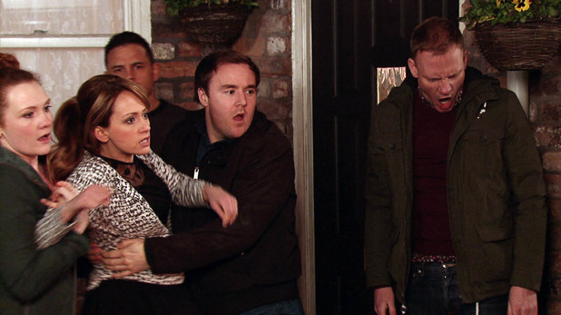 Corrie, Maria lashes out, Wed 16 Apr