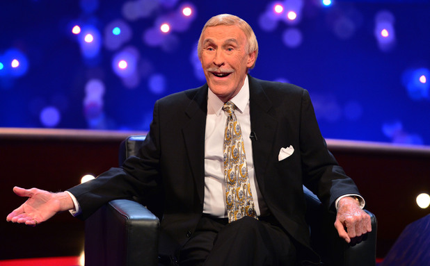 Bruce Forsyth on The Michael McIntyre Chat Show (14 April)