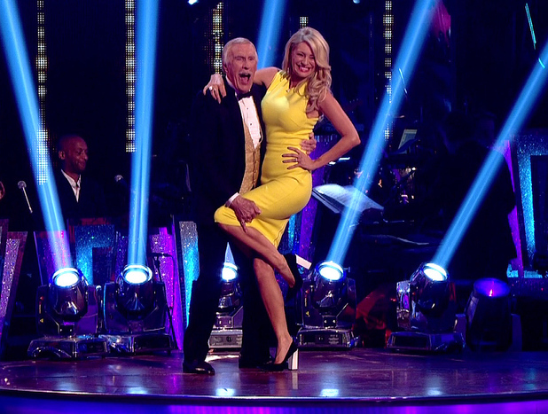 Bruce Forsyth and Tess Daly - Strictly Come Dancing, Shown on BBC One HD 29/9/2013