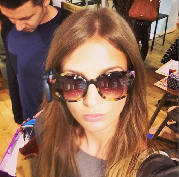 Millie Mackintosh shopping with Pro green, April 14