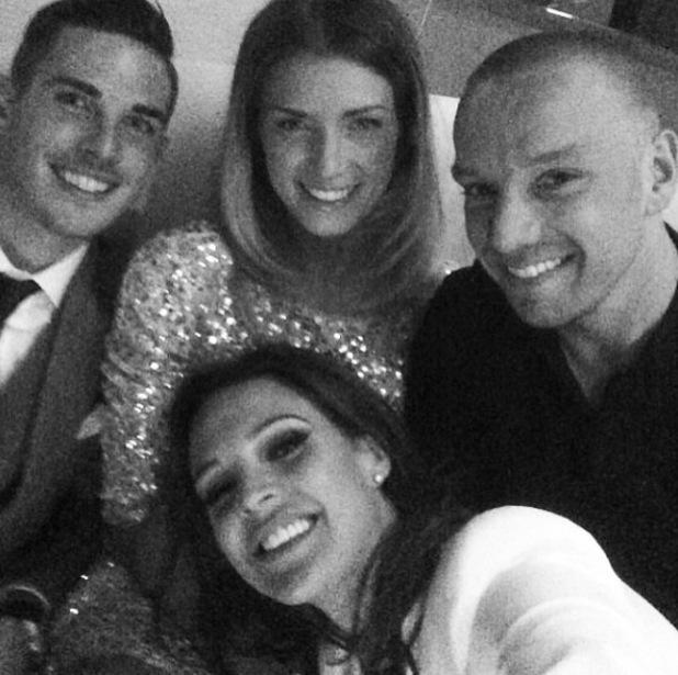 Danielle Lloyd, Jamie O'Hara and friends attend Locke premiere - 16 April 2014