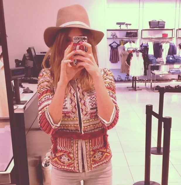 Millie Mackintosh shopping, April 14