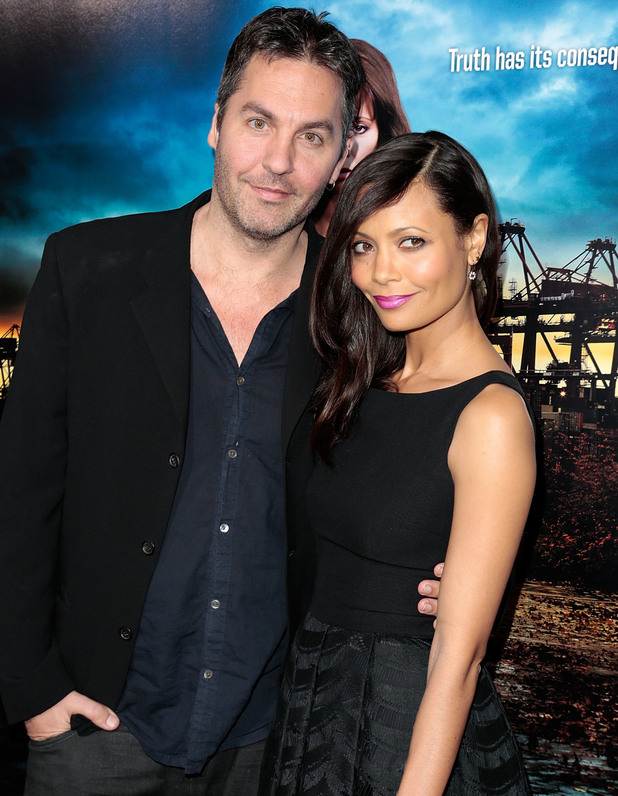 Thandie Newton and Ol Parker - Los Angeles Premiere of 'Rogue' at Arclight cinemas 03/26/2013 Los Angeles, United States