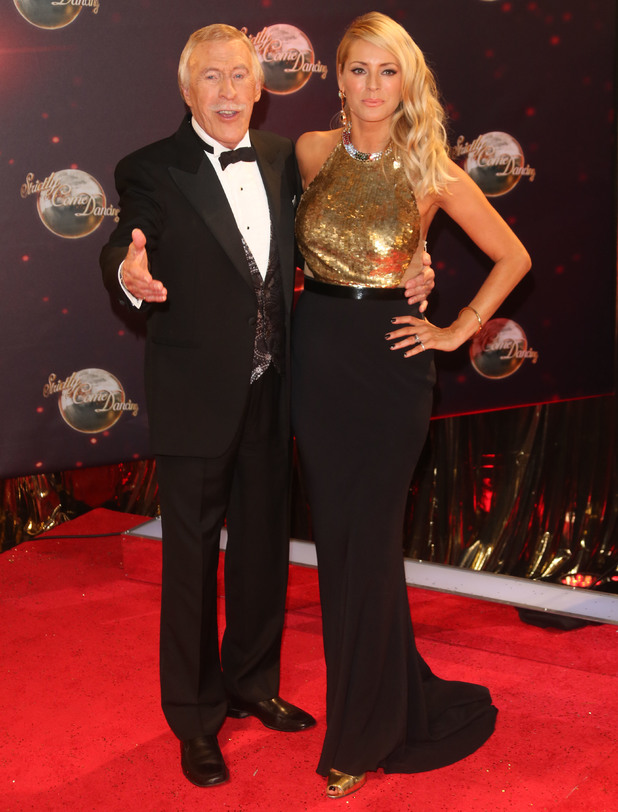 Tess Daly and Sir Bruce Forsyth at the Strictly Come Dancing Launch Event 09/03/2013