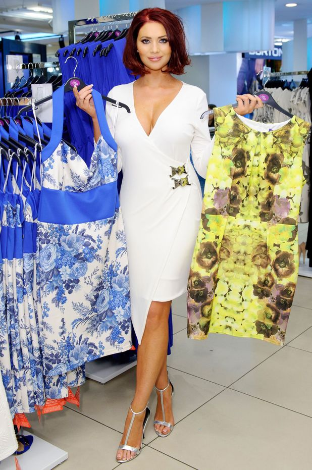 Amy Childs launches her Amy Childs Collection in Dorothy Perkins, London, England - 16 April 2014