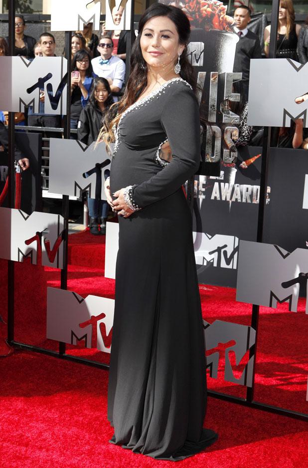 JWoww, 2014 MTV Movie Awards, Arrivals, Los Angeles, America - 13 Apr 2014