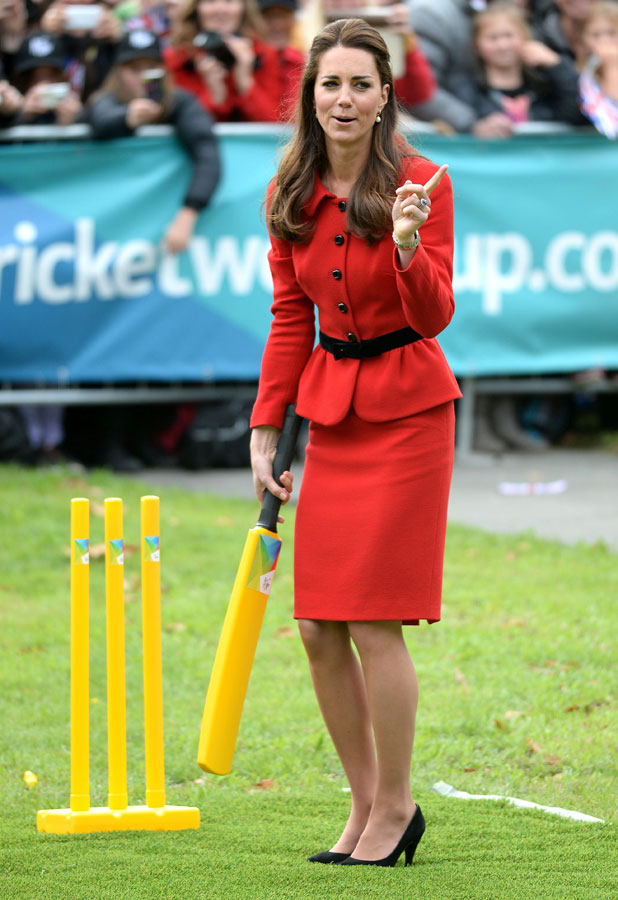 Prince William and Catherine Duchess of Cambridge visit Christchurch, New Zealand - 14 Apr 2014