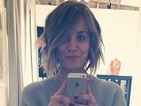 Kaley Cuoco gets a hair makeover with super-short blonde bob