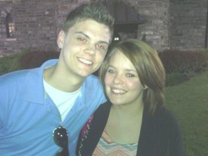 Catelynn Lowell and Tyler Baltierra from Teen Mom - uploaded 24 April 2014