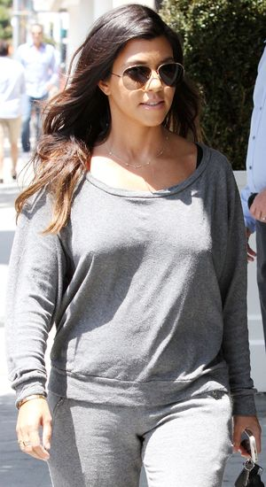 Kourtney Kardashian out and about, Los Angeles, America - 22 Apr 2014