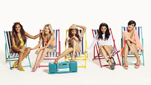 The Saturdays' launch a new campaign for First Choice holidays - 25 April 2014