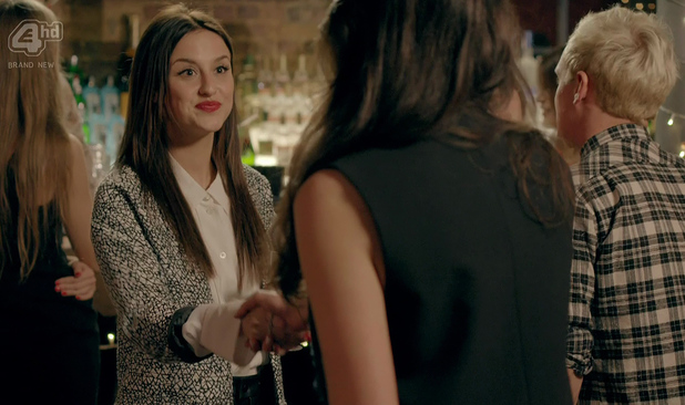 Made In Chelsea Jamie arrives to Lucy's 23rd Birthday party with a date and introduces the two girls. Lucy isn't impressed that he has brought someone without asking her permission. Aired: 21 April.