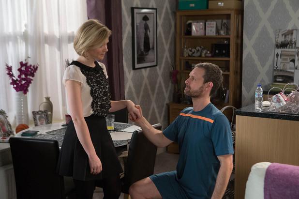 Corrie, Nick wants Leanne back, Fri 25 Apr