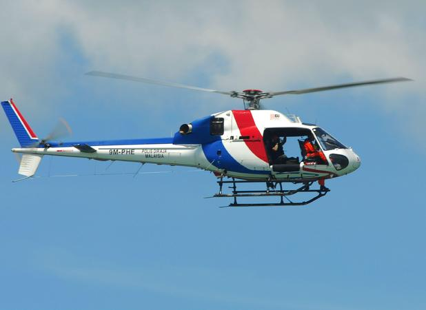 Lewis Blythe, hired helicopter to find lost dog