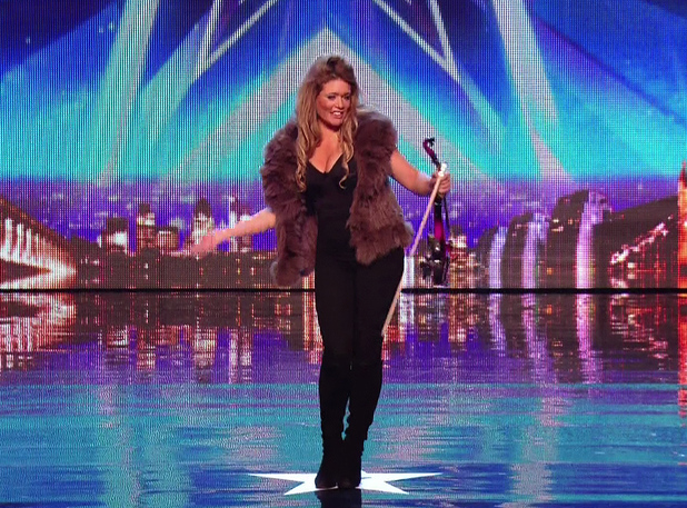 Lettice Rowbotham on Britain's Got Talent