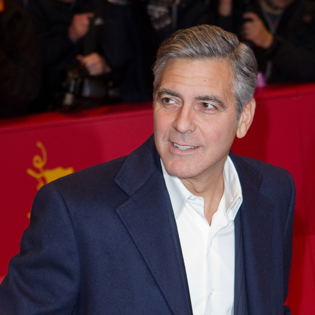 George Clooney at the 64th Berlin International Film Festival, 02/08/2014
