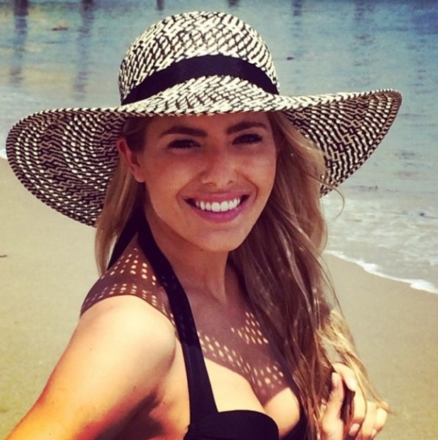 Mollie King in Malibu, 23 April