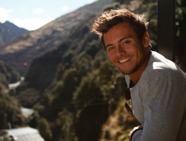 Tom Daley and Sophie Lee visit New Zealand on episode three of Tom Daley Goes Global, airs 24 April 2014