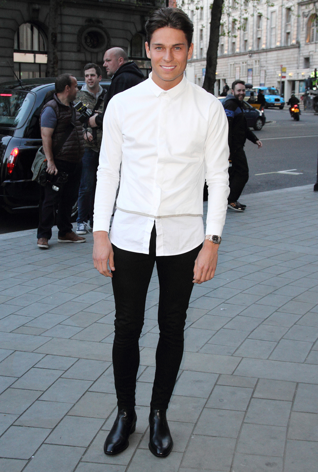 Joey Essex at the Stealing Banksy Launch Party at ME London, The Strand, London, 24 April 2014