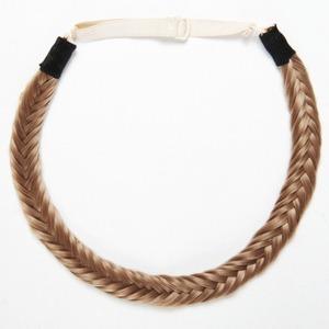 Hair Rehab Fishtail Headband in Toffee