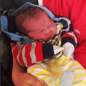 Natasha Giggs gives birth to a baby boy - 29 April 2014