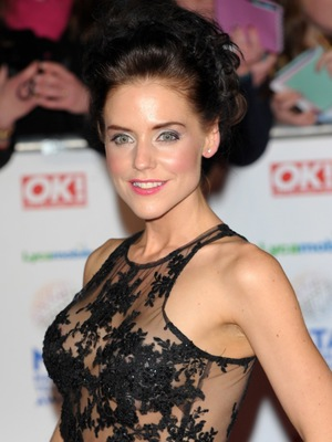Stephanie Waring at the National Television Awards, January 2014