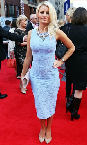 Danielle Armstrong, World Premiere of Plastic at the Odeon West End, London, 29 April 2014