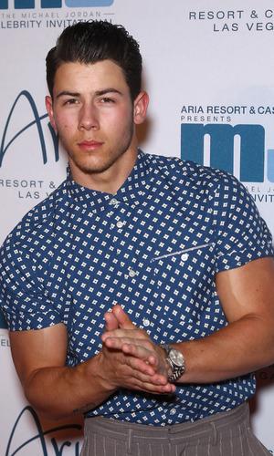 Nick Jonas - Las Vegas Gala for 13th Annual Michael Jordan Celebrity Invitational at ARIA 4 April 2014