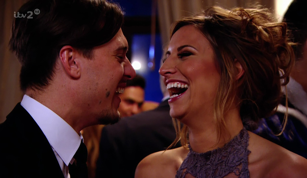 TOWIE: Charlie Sims and Ferne McCann at Jessica Wright's Fairy Tale fancy dress party on 'The Only Way Is Essex', shown on ITV2 HD. 3 April 2014.