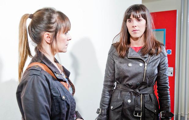 Emmerdale, Donna tells Rhona, Thu 1 May