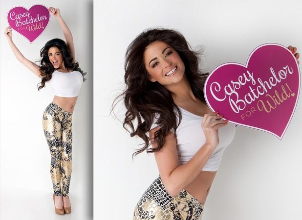 Casey Batchelor teams up with Wild! to launch her own leggings range - 3 May 2014