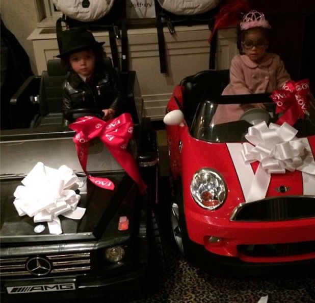 Mariah Carey and husband Nick Cannon celebrate their twins Monroe and Moroccan's third birthday (30 April).
