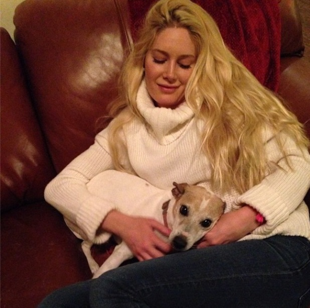 The Hills' Heidi Montag visits her mum and stepdad in Colorado - 2 May 2014