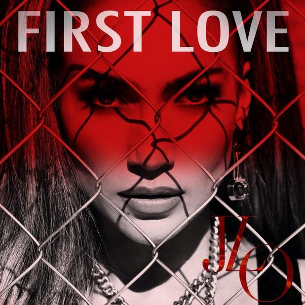 Jennifer Lopez posts the cover artwork for her new single 'First Love' - 1 May 2014
