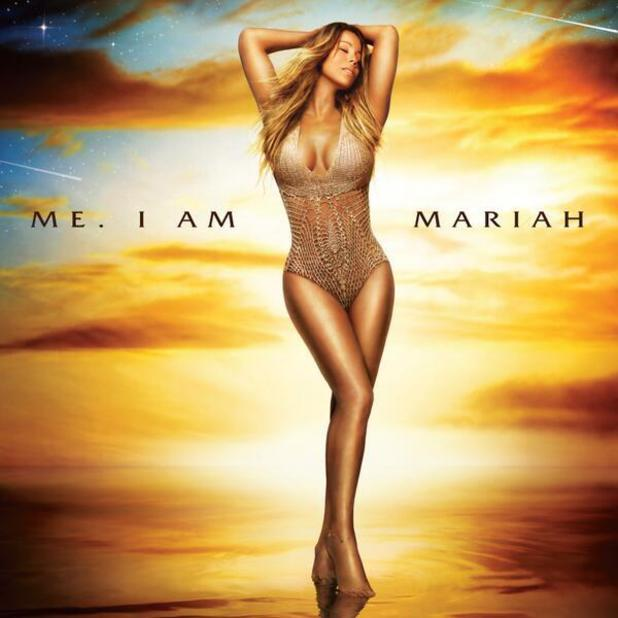 Mariah Carey unveils the standard album cover for Me. I Am Mariah... The Elusive Chanteuse. (1 May 2014).