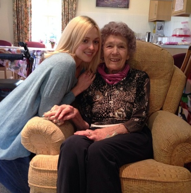 Faerne Cotton celebrates her nan's 92nd - Apr 14