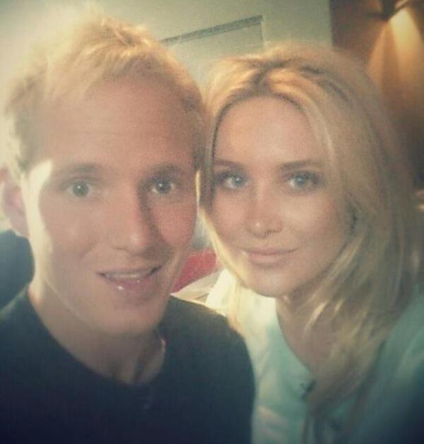 Jamie Laing and Stephanie Pratt take part in an E4 live chat together - 30 April 2014