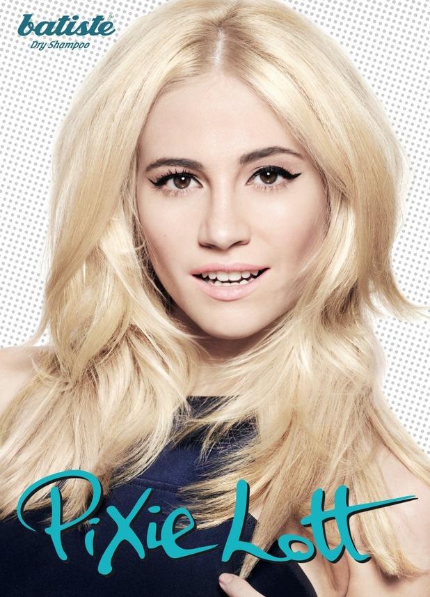 Pixie Lott Batiste campaign shot